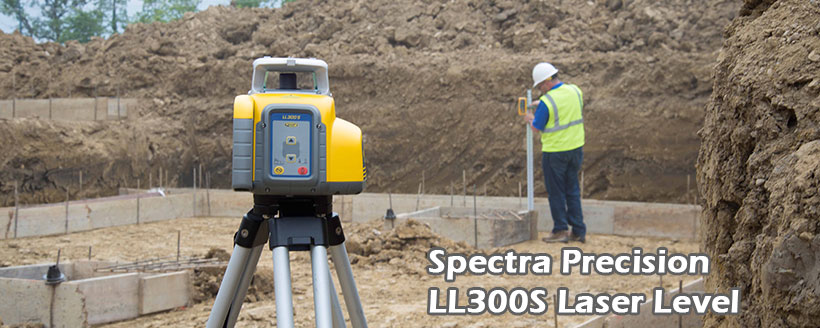 Spectra Precision LL300S Total Station