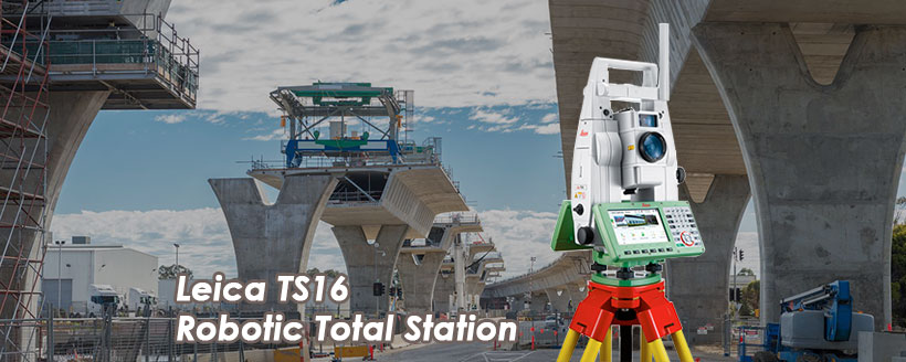 Leica TS16i Imaging Robotic Total Station