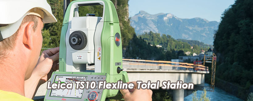 Leica TS10 Flexline Total Station