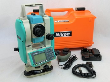 "Used Nikon NPL-322 5"" Reflectorless Total Station"