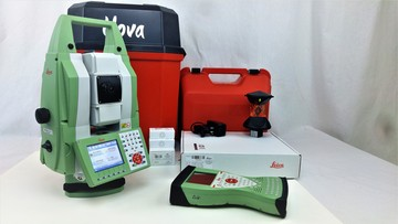 "2013 Leica Nova MS50 1"" MultiStation package"