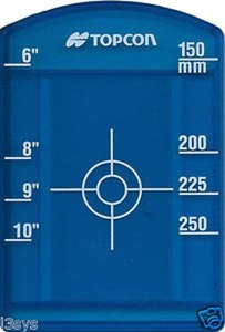 Topcon Small Blue Laser Target 329370040