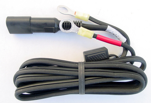 Pac Crest A00393 Power Cable, Car Battery to Pig Tail