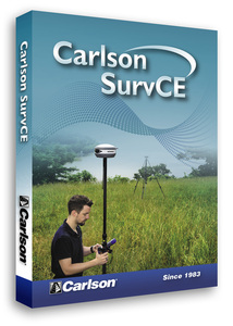 SurvCE 5.0 Robotic Software (requires Total Station)
