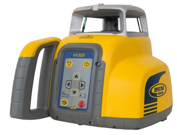 Spectra Precision HV302-1 Laser Level Interior Package