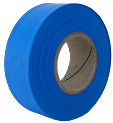 Blue Survey Flagging Tape Ribbon