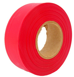 Red Survey Flagging Tape Ribbon