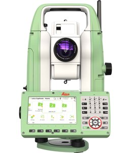 "Leica TS10 5"" R500 Flexline Total Station"