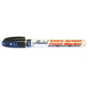 Markal Valve Action Paint Marker- Blue