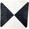 "Aerial Target 48"" x 48"" Iron Cross Pattern from Presco 65048"