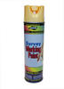 Aervoe 20 oz Fluorescent Yellow Inverted Marking Paint