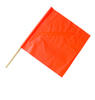 "24"" Warning Flag with Stay and 36"" Handle"