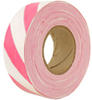Red/White Striped Survey Flagging Tape Ribbon