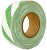 Green/White Striped Survey Flagging Tape Ribbon