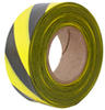 Yellow/Black Striped Survey Flagging Tape Ribbon