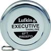 "Lufkin W606PD 1/4"" x 6' Executive Diameter Steel Tape"
