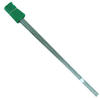 "2"" x 3"" x 21"" Green Wire Stake Flag"