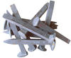 Railroad Spikes 100 LB Barrel