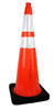 "36"" Traffic Cone with Reflective Collars"
