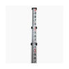 Northwest 9' Aluminum Level Rod Feet/10ths/100ths