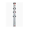 Northwest 14' Aluminum Level Rod  Feet/10ths/100ths