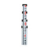 Northwest 16' Aluminum Level Rod  Feet/Inches/8ths